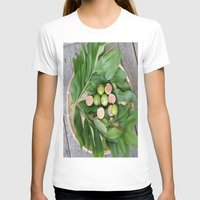fruits T-shirts featuring FRUITS & LEAVES by Annie Koh
