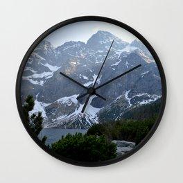 Morskie Oko - Tatry Mountains Wall Clock