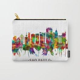 Sao Paulo Brazil Skyline Carry-All Pouch