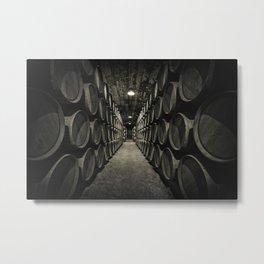 World of barrels Metal Print