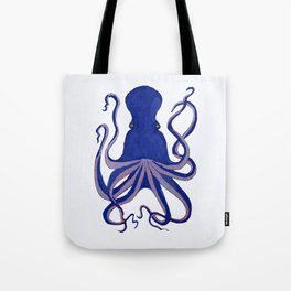 Octopus Blue Tote Bag