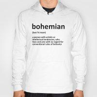 bohemian Hoodies featuring bohemian by bohemianizm