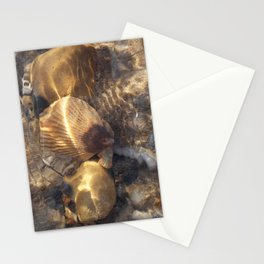 Shells in a Rock Pool at the Beach Stationery Cards