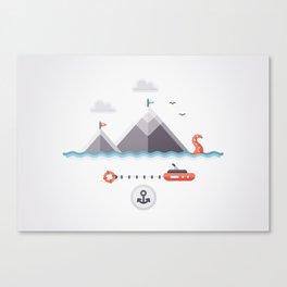 MOUNTAINS - ORIGINAL Canvas Print