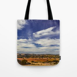 Evolved Skies, A colorful series of Landscapes Tote Bag