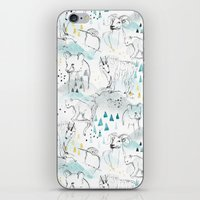 High in the Mountains iPhone Skin