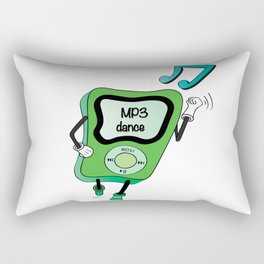MP3 DANCE Rectangular Pillow