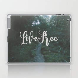 """the clearest way into the Universe is through a forest wilderness."" Laptop & iPad Skin"