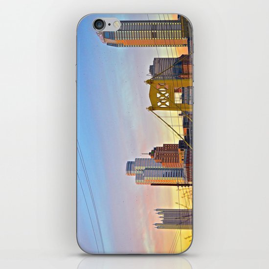 Sunset from the Southside iPhone & iPod Skin