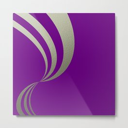 Eleganza,violet Metal Print