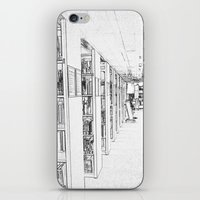 library iPhone & iPod Skins featuring Library by Triple-A