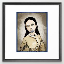 Olive Oatman Framed Art Print