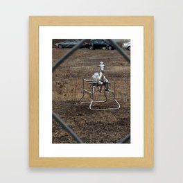 The Silver Hobby Horse 3 Framed Art Print