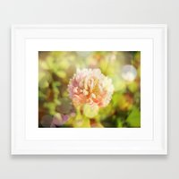clover Framed Art Prints featuring Clover by Magic Emilia