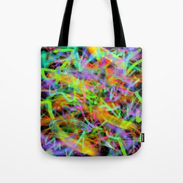 Glowstick Party Tote Bag