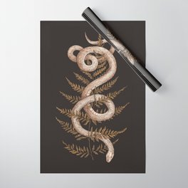 The Snake and Fern Wrapping Paper
