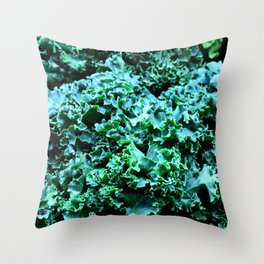 Hail to the Kale Throw Pillow