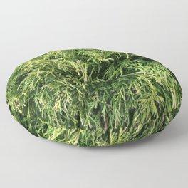 Combed Greens Floor Pillow