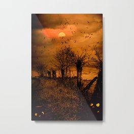 Samhain Contemplative -- Trick or Treat Smell My Feet Metal Print