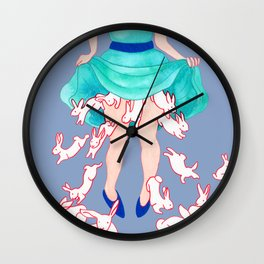 They Just Keep Coming Wall Clock