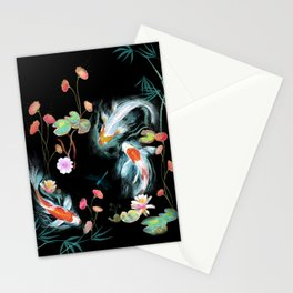 Japanese Water Garden Stationery Cards