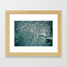 Winter river No. 2 Framed Art Print