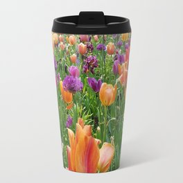 A Sunset in Bloom Travel Mug