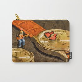 Playing For Time Carry-All Pouch