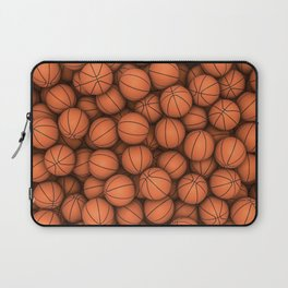 Basketballs Laptop Sleeve