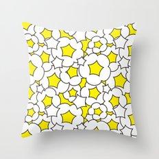 Bursted popcorn pattern Throw Pillow