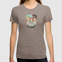 """CHUBBY GIRLS """"Do it Better!"""" T-shirt"""