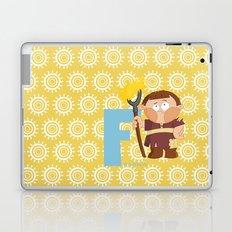 f for farmer Laptop & iPad Skin