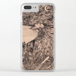 sleep Clear iPhone Case