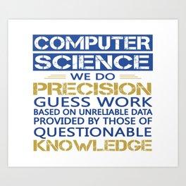COMPUTER SCIENCE Art Print
