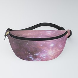Pink Cosmic Galaxy Fanny Pack