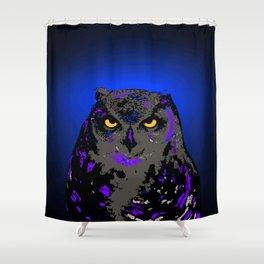Big Owl (Apache) Shower Curtain