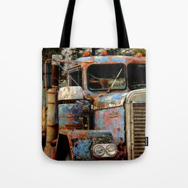 Old Truckers Never Die Tote Bag
