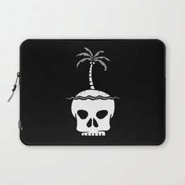 Skull Island – Black Laptop Sleeve