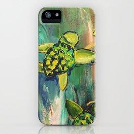 Turtles iPhone Case