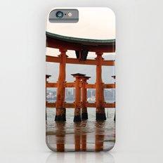 Itsukushime Shrine Torii Gate Slim Case iPhone 6s