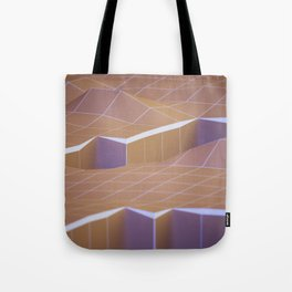 polygons rift Tote Bag