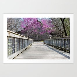 Purple Fresh Art Print