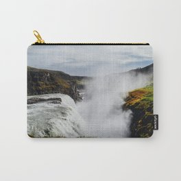 Gullfoss Waterfall, Iceland Carry-All Pouch