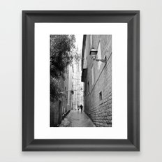 A Tender Moment Framed Art Print