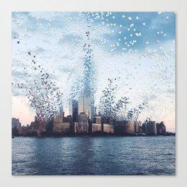 Citiescape Canvas Print