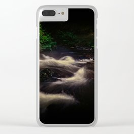 Kerosine Creek Clear iPhone Case