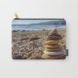Stacked on the Shore Carry-All Pouch