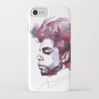 prince iPhone & iPod Cases featuring Prince by Allison Kunath