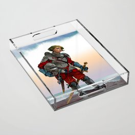 Knight of the Blackrocks Acrylic Tray
