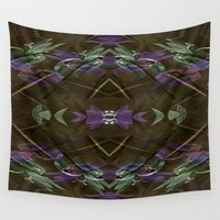 lantern Wall Tapestries featuring My Lantern... by Cherie DeBevoise